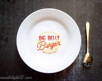Big Belly Burger - The Green Arrow - Arrow - The Flash - Arrowverse - Ceramic Plate