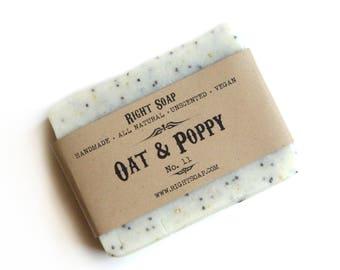 Scrub Soaps Body Scrub Exfoliating Soap All Natural Scrub Soap Oatmeal Gift for Christmas Gift for Women Soap Stocking Stuffer her For Women