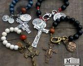 Custom Pocket Rosary w/ Sacred Heart