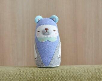 OOAK BearPlush - Home Decor - Bear Collection - Bear plushie - Softoy - Stuffed Animals - Nusery Decor - Ready to Ship