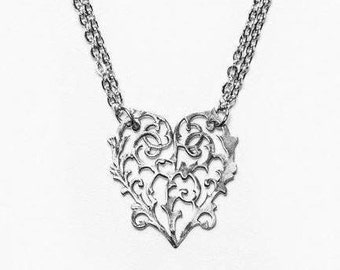 "Spoon Necklace: ""Alicia"" by Silver Spoon Jewelry"