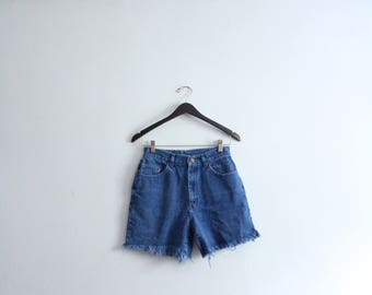 Denim 90s Cut Off Shorts