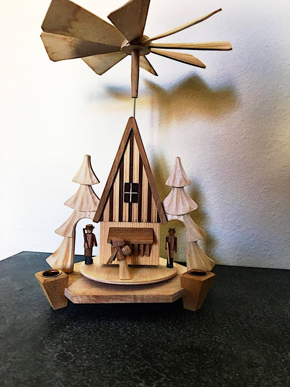 Vintage German Christmas Pyramid