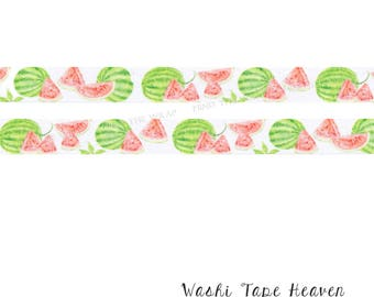 NEW Watermelon Washi Tape - 15mm x 7m  - Summer Picnic Fun Planners Decoration Collage Paper Crafting Supply
