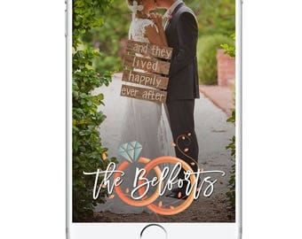 Wedding Snapchat Geofilter, Classy Wedding Minimalist Beautiful Party Filter, Snapchat Geofilter, Wedding Day Snapchat, Wedding Accessories