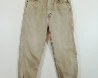 """90s LEVI'S 550 Relaxed Fit // Size 33"""" x 32"""""""