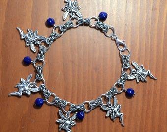 Fairy Charm Bracelet Byzantine Chainmaille