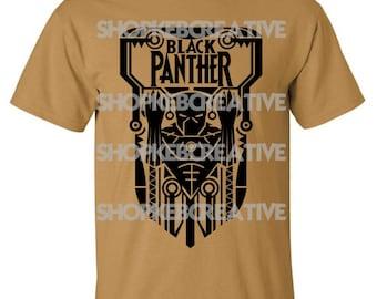 Black Panther T-Shirt Free Shipping