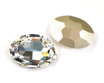 Swarovski 39x28mm Oval Shape 4127 Crystal 1 Piece