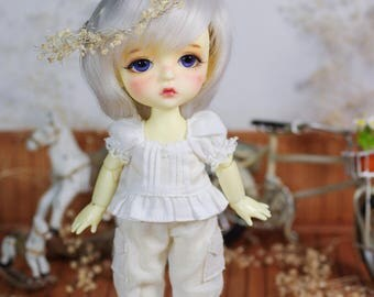 "Lati Yellow/Pukifee - Vintage ""Autumn Harvest"" Rustic Pant - CreamyWhite"