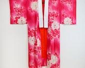 Pink silk Nagajuban, Japa...
