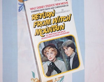 Return From Witch Mountain, 1978 1st printing, Pocket Book