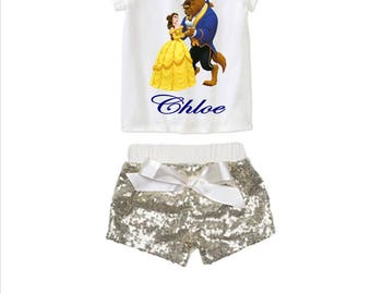 Beauty and the Beast Birthday Disney Outfit