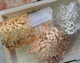 ON SALE Rose gold  Bracelet  Gold cuff Bracelet  Bridal Cuff  Bracelet  Wedding Bracelet Wedding Silver Cuff  Bracelet Birthday Gift