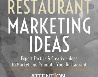 Restaurant Marketing Ideas Ebook