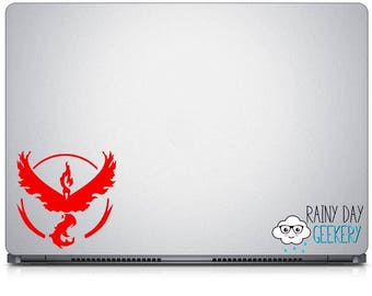 Valor Decal - FREE shipping with code - Team decal - nostalgic decal - gamer - nerdy - geeky - car window decal - laptop sticker