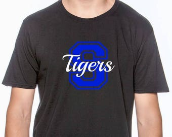 Custom School Shirt; Team Spirit Shirts; Sports Shirt; Personalized Shirt; Team Shirt;