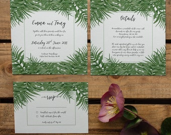 CATALINA // Wedding Stationery // Suite