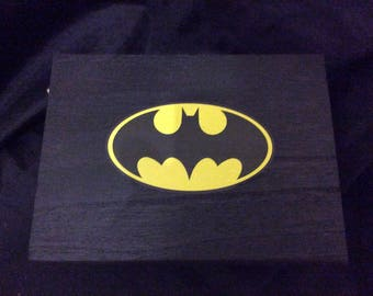 Batman jewelry box Etsy
