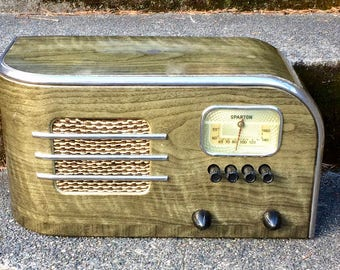 1938 Sparton Selectronne Radio, Teague Design, Elec Restoration