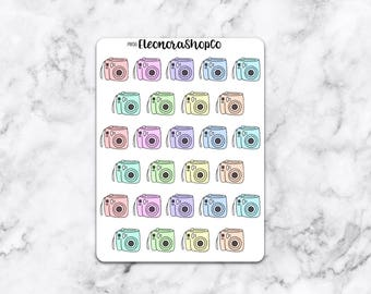 PASTEL INSTAX MINI Stickers — pw06