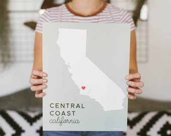 "The ""Central Coast Love"" Print"