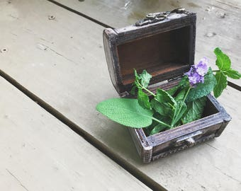 Reiki Charged Herbal Spell Box