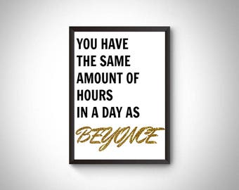 Beyonce digital print, Wall art prints, Beyonce home decor prints, Queen B poster, Lemonade, Beyonce printable, instant download printable