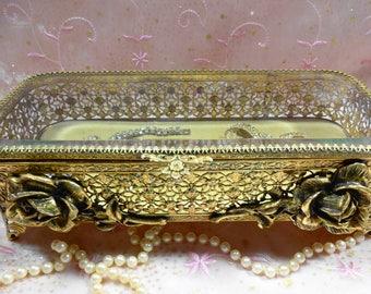 Ormolu Dresser Box
