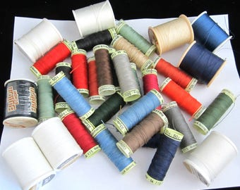 Thread Lots EXTRA STRONG WEIGHT for Upholstery, Home Dec, Top Stitch, Button & Carpet Many Craft Projects Choice or All