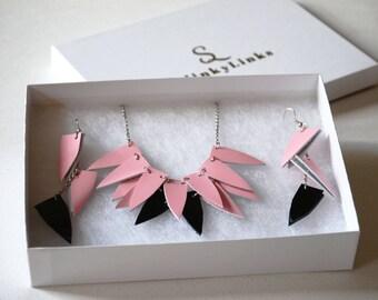 Hipster jewelry set, Geometric jewelry set, Mom for daughter, Daughter jewelry set, Gift for best friend, Gypsy charm jewelry, Birthday gift