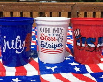 4th Of July Party, 4th Of July Decor, July 4th Decor, July 4th Party Favors, For The Fourth, Fourth Of July Decor, Stars And Stripes
