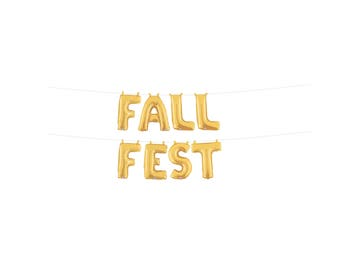 Fall Party Decorations, Fall Birthday, Fall Fest Banner