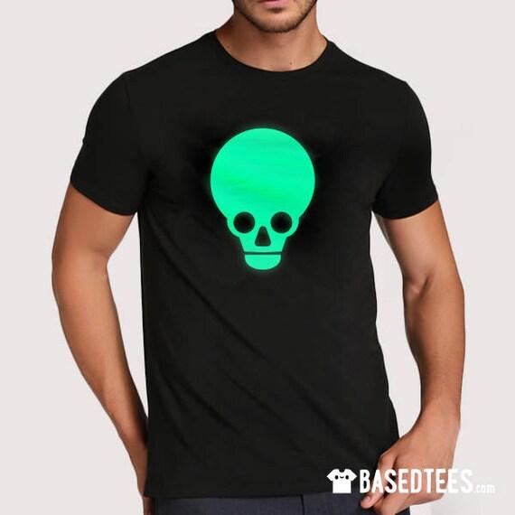 Pink Lars Skull T-shirt (Glows in the dark!)
