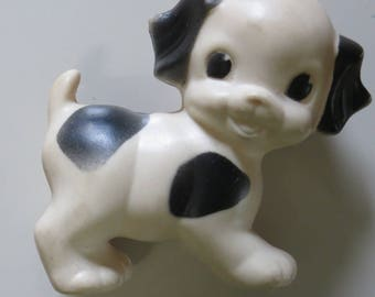 Ruth Newton Sun Rubber Squeaky Toy Puppy-1950's