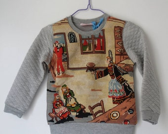 Child Breton sweater - 5 years - Collection canvas