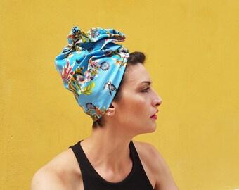 Pure Cotton-Silk Handmade Turban, Spring/Summer, Chemo and Alopecia-pure cotton-silk Turban, spring/summer