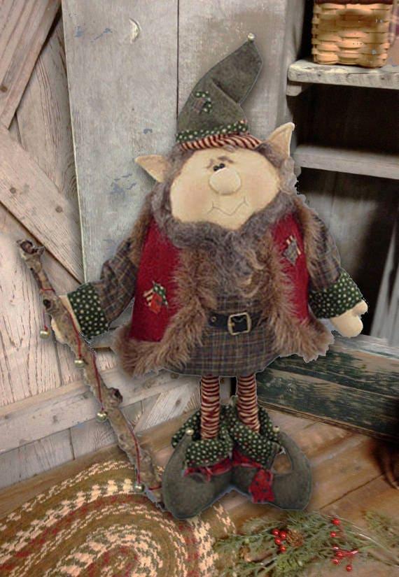 "Fabric Kit: ""Jangles"" - Elf doll pattern by Sparkles n Spirit"