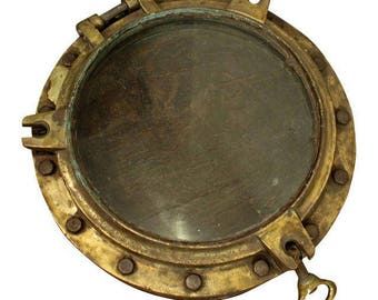 Antique Architectural Nautical Salvage Porthole