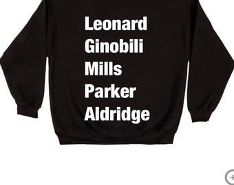 San Antonio Spurs Players Swearshirt