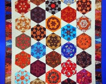 Dresden Flower Garden By Blanche Young And Lynette Young Bingham Paperback Quilt Pattern Book 2003