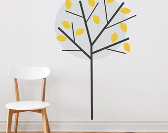 Wall Sticker Moonlight Tree - Decals - Tree Decals - Home Decor - Home Improvements - Flower Wall Stickers