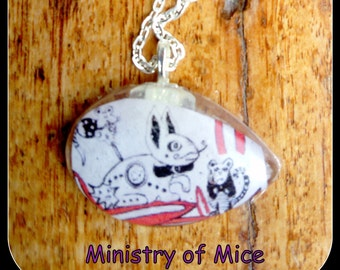 Minitstry of Mice Resin Necklace
