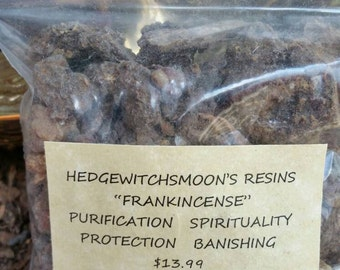 Frankincense Resin...4.7oz Bags.For Rituals.Ceremonies.Celebration.Relaxation.Spiritual.Gathering.Purification.Protection.Banishing.