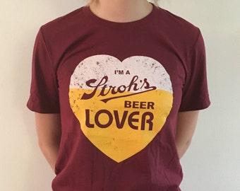 Stroh's Beer Lover T-Shirt