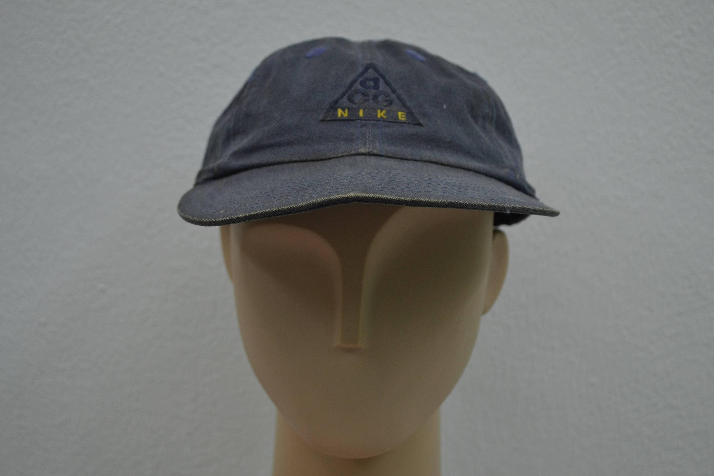 7c9499fb05b3f Nike Hat Vintage Nike ACG Cap 8 Panel Cap Size L XL  E1019094703493002M  -   26.00   Lockerstars.top