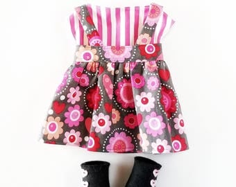 Doodle Flowers Jumper - Dress Up Outfit