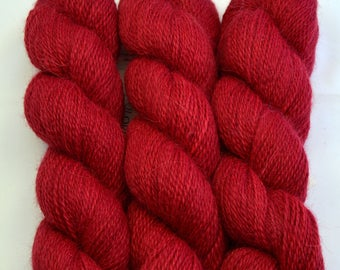 ALPACA BABY Light fingering weight Strawberry