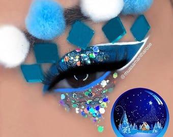 Wish Upon A Mermaid | Silver Holographic Festival Body Glitter | Glitter Lambs Body Glitter | 15 mL Jar