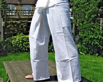 100% Thick Cotton Thai Fisherman Pants